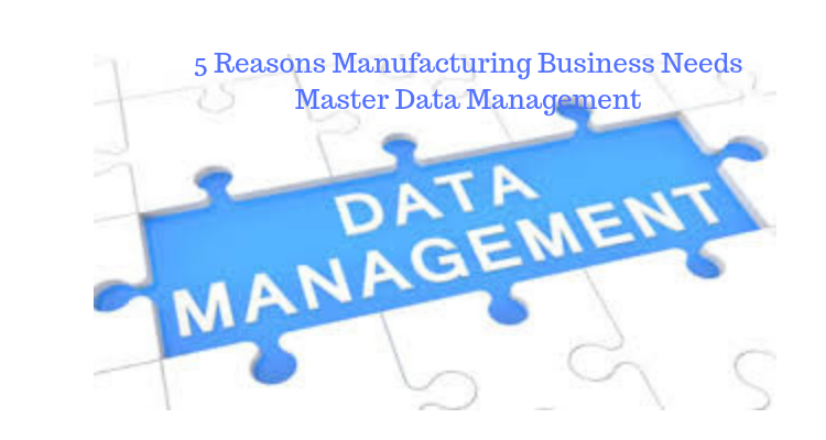 Manufacturing Business Needs Master Data Management