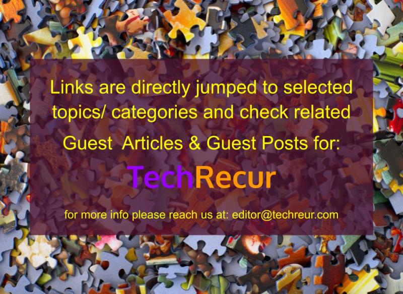 Links are directly jumped to selected topics or niches for guest posting with samples of guest posts.