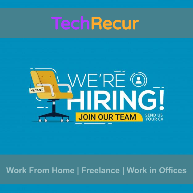 TechRecur is Hiring
