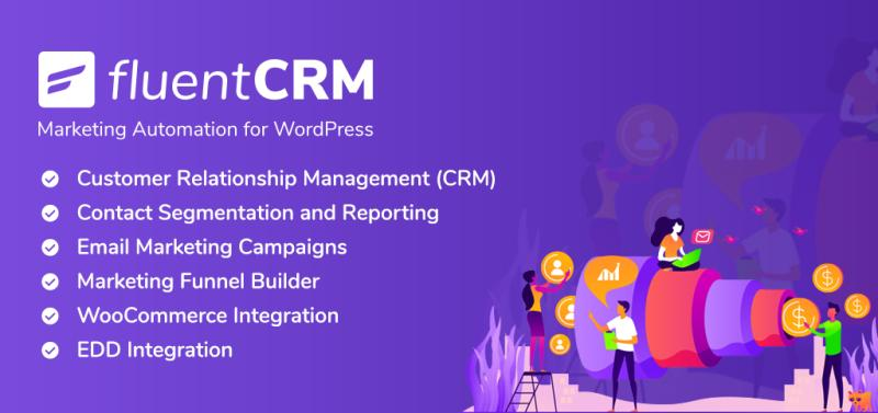 FluentCRM - complete email marketing automation plugin for WordPress
