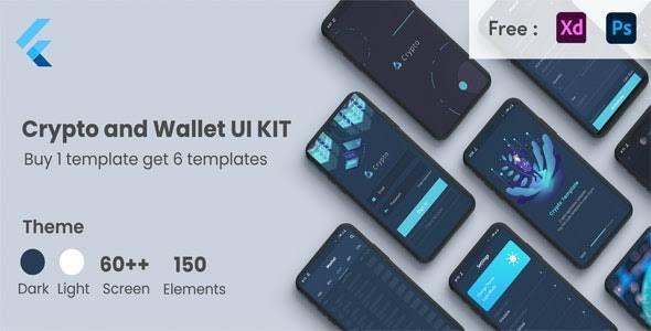 Crypto Wallet UI Kit Template