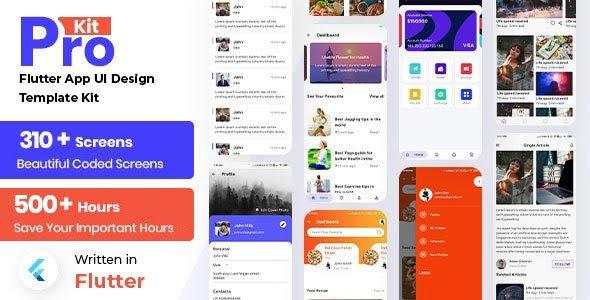 Prokit - Flutter App UI Kit