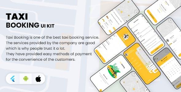 Taxi App Driver UI Kit
